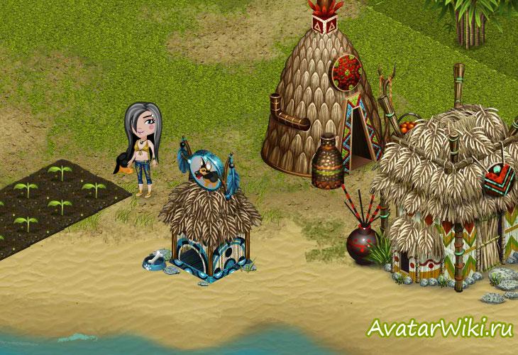 Скриншот из игры Тропикания